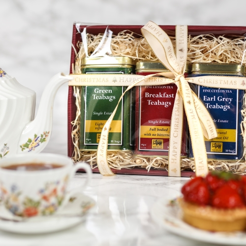 CHRISTMAS HAMPER - PREMIUM CEYLON TEA BAGS