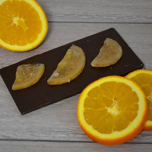 Orange Dark Inclusion Bar