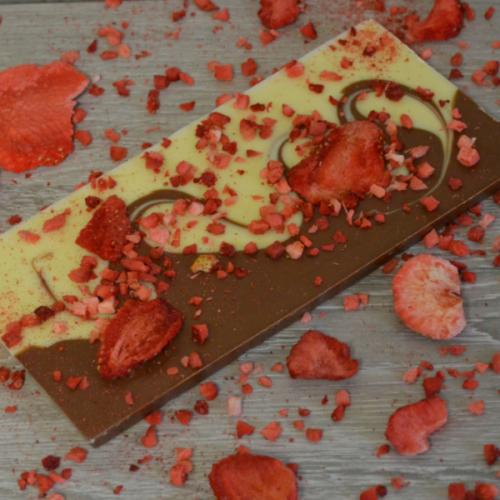 Strawberry Milk-White Chocolate Bar