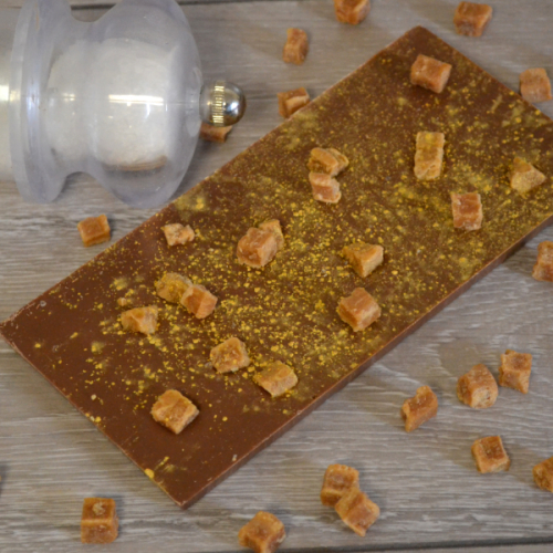 Salted Caramel Milk Chocolate Bar