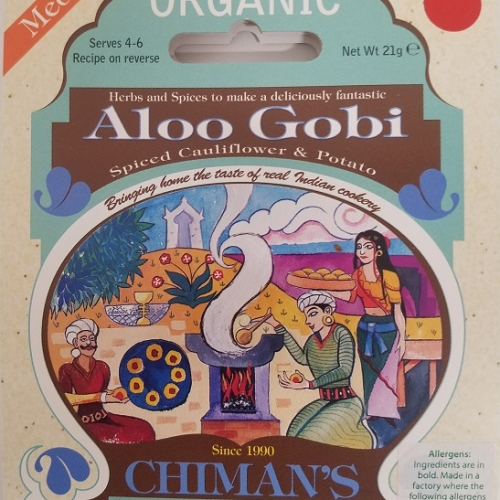 Aloo Gobi spice blend (Org)