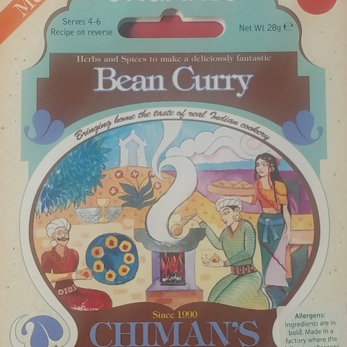 Bean Curry spice mix (Org)