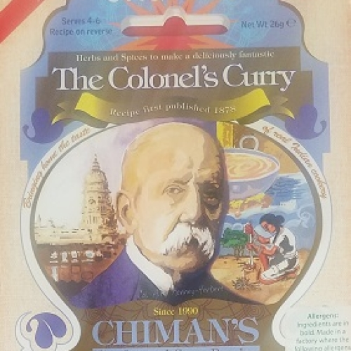 The Colonel's Curry spice mix - Hot (Org)