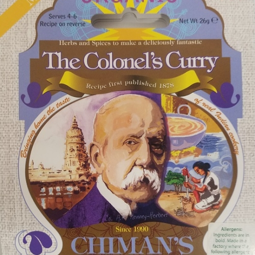 The Colonel's Curry spice mix - Mild
