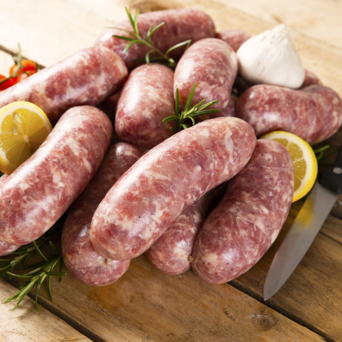 Pork & Leek special recipe Sausages