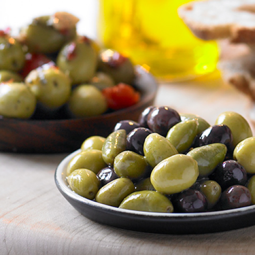 Smoked Olives with or without chilli