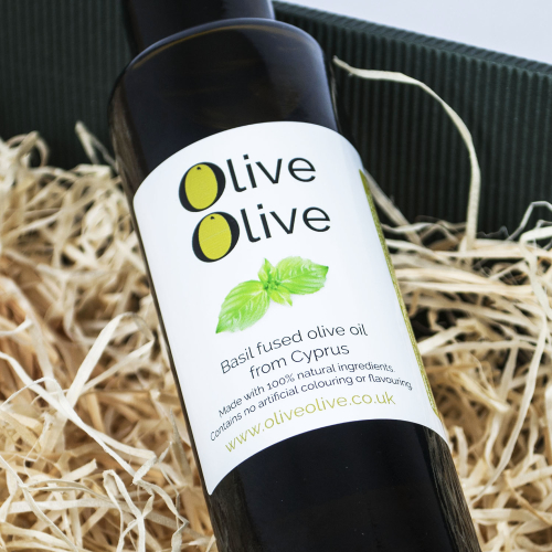 Basil Fused Olive Oil