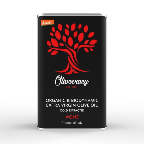 Olivocracy #ONE - Medium / Intense Organic & Biodynamic Extra Virgin Olive Oil - 500 ml