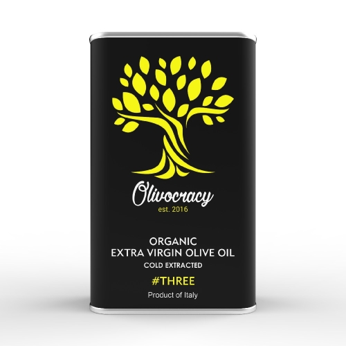 Olivocracy #THREE - Mild Organic Extra Virgin Olive Oil - 500 ml
