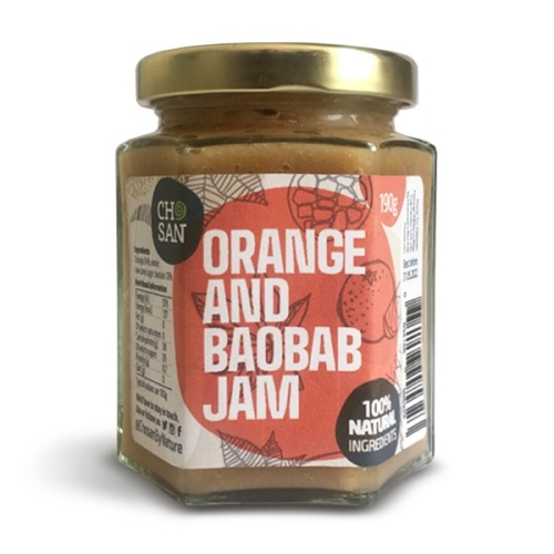 Zesty Orange and Baobab Jam