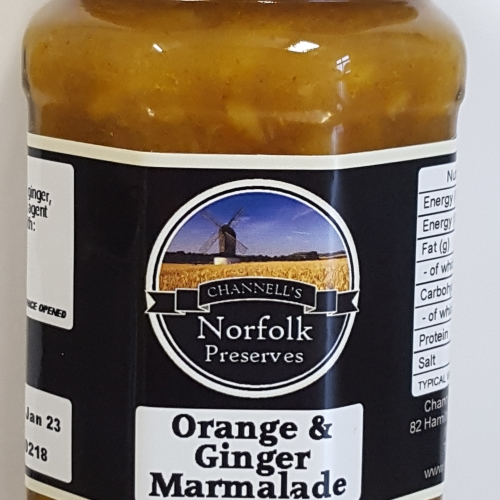 Orange & Ginger Marmalade