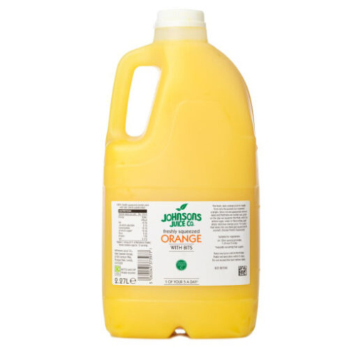 Freshly Squeezed Johnsons Juices