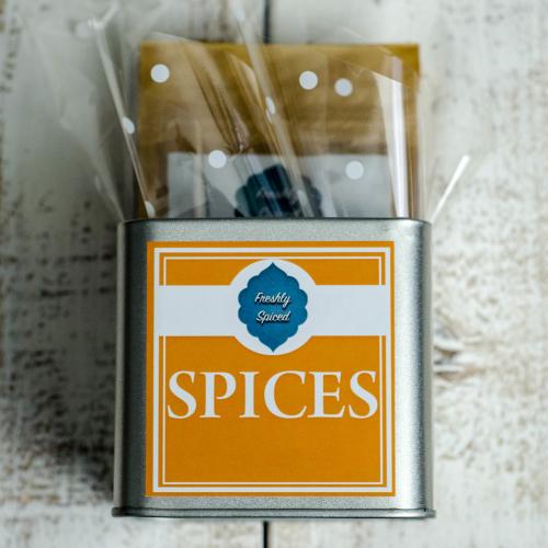Spice Tin Gift Set