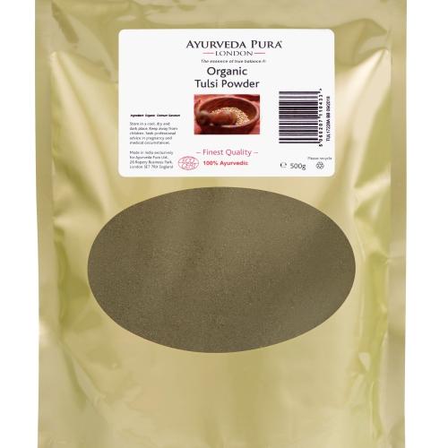 Organic Tulsi Powder - 500g