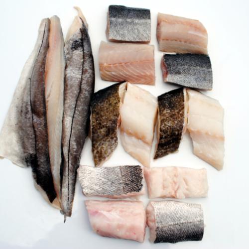 The Scottish Fishermen Fish Box (£3.50 per portion)