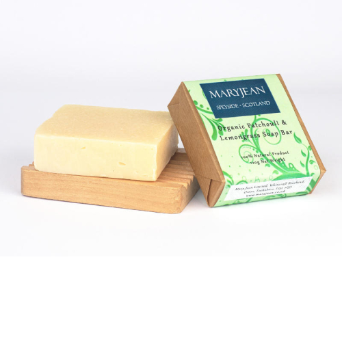 Patchouli and Lemongrass Soap Bar
