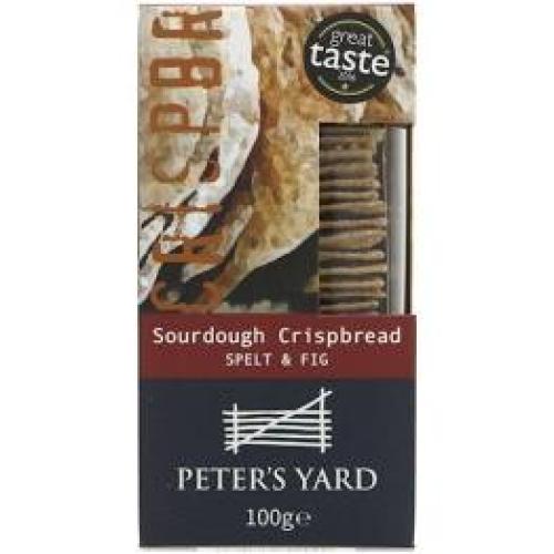 Peter's Yard - Artisan Spelt & Fig Crispbread