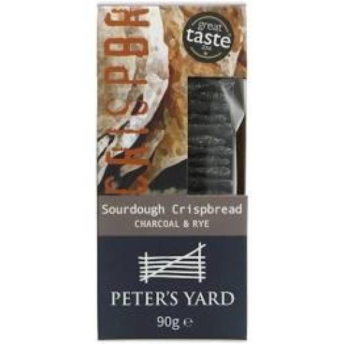 Peter's Yard - Sourdough Crispbread Charcoal & Rye