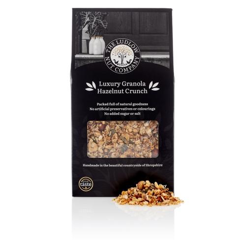 Luxury Hazelnut Crunch Granola