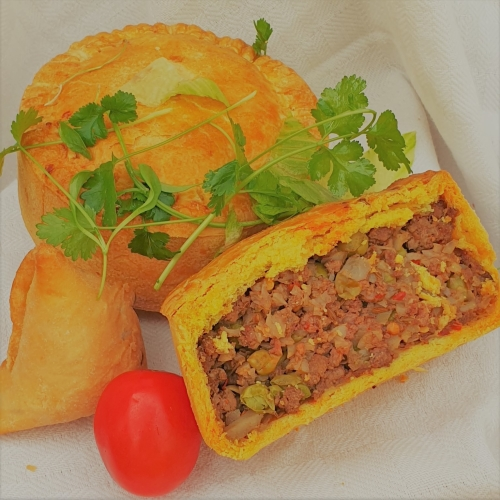 Lamb Samosa Pie