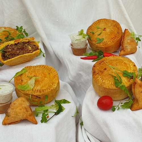 Chicken Samosa Pie