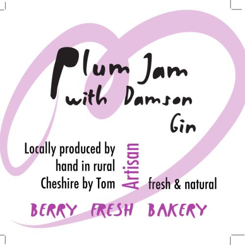 Plum Jam with Damson Gin
