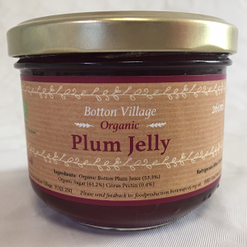 Plum Jelly, Organic