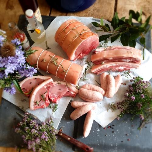 Summer box - 5kg Middle White pork