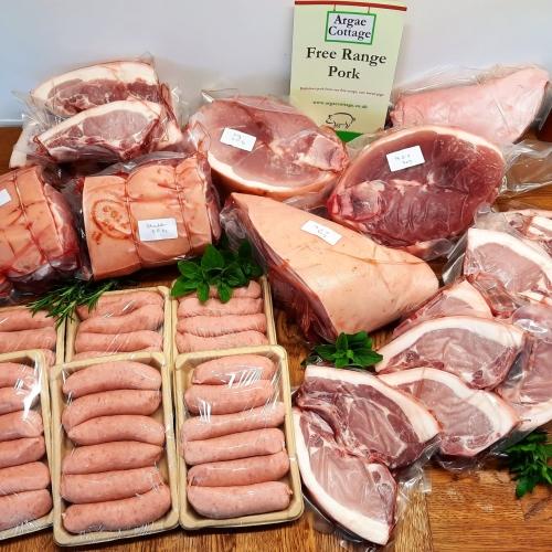 Free Range Pork Box: Half Pig Box