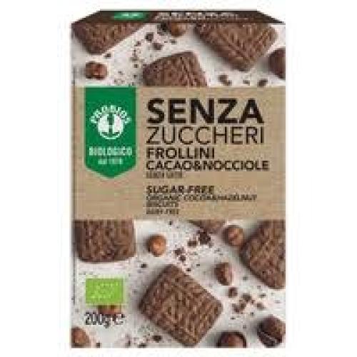 Probios Sugar-Free Biscuits • Cocoa & Hazelnut