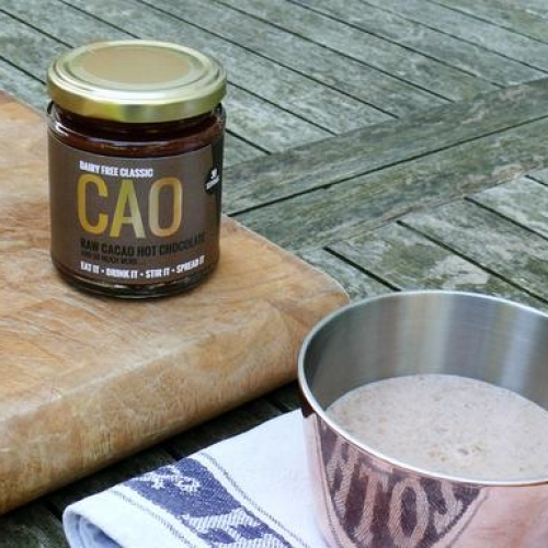 Natural, Raw Cacao Hot Chocolate Paste