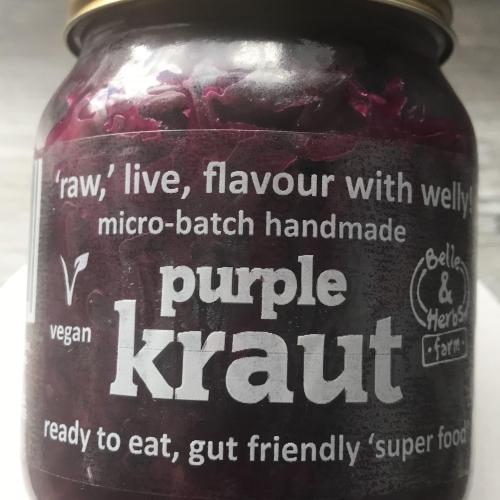 Purple Kraut (Sauerkraut)