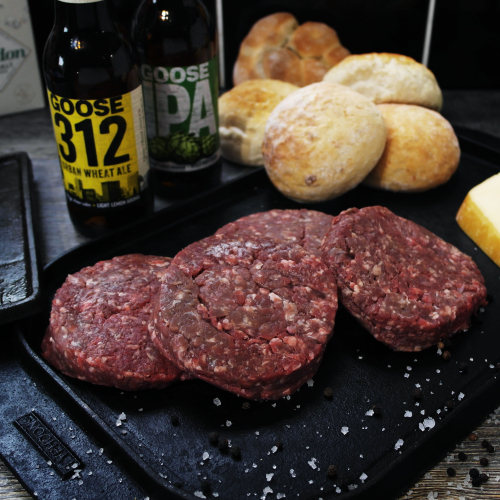 Native Breed Beef Burgers - 10 x 6oz