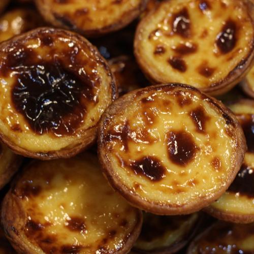 Nutella Pastel de Nata (Portuguese Custard Tart)