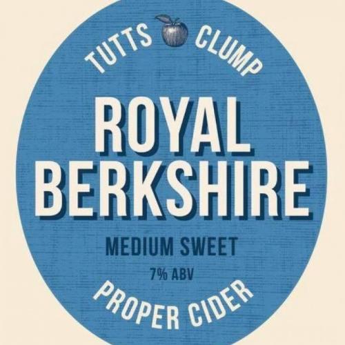 Royal Berkshire Cider 7% ABV