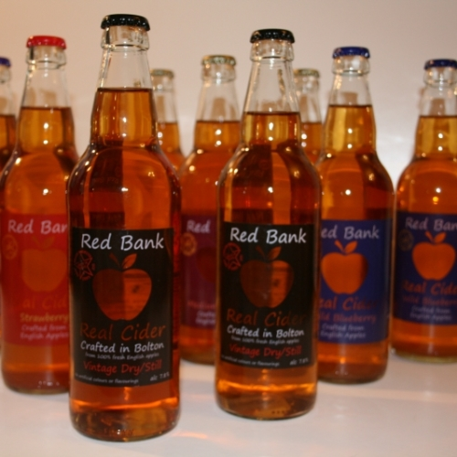 8 x 12 Cases - REAL CIDER BOTTLES - £2.08 500ml