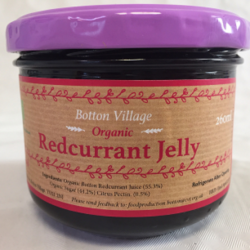 Redcurrant Jelly, Organic