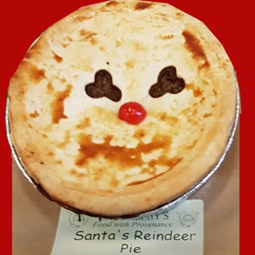 Santa's Reindeer Pie