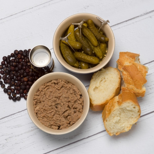 Rillettes with Cooper King Gin