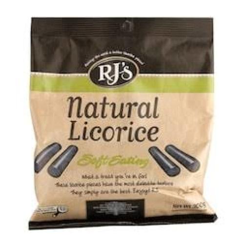 RJ's - Natural Soft Eat Liquorice