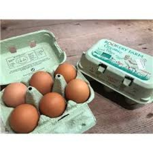 Rookery Farm Organic Free Range Eggs - Medium