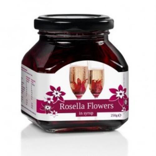 Wild Hibiscus Rosella Flowers 250g (11 Flowers)