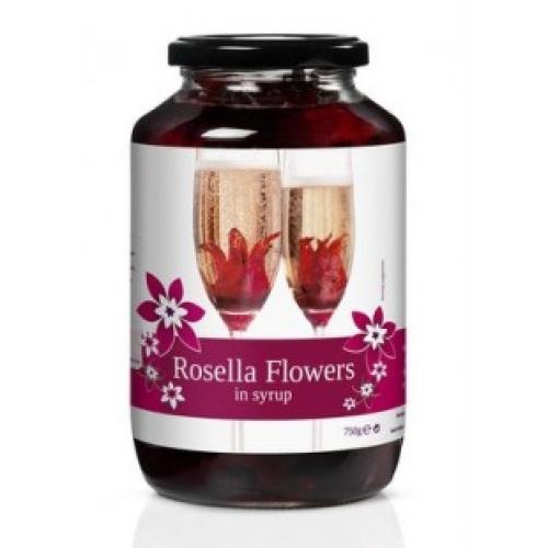 Wild Hibiscus Rosella Flowers 750g (40 Flowers)