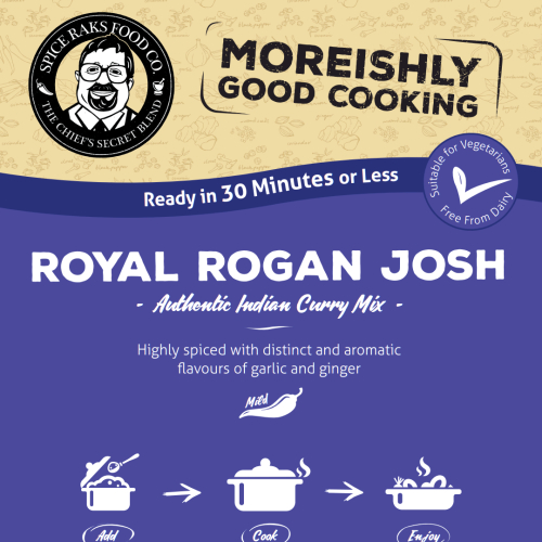 Chief's Royal Rogan Josh Curry Sauce Kit ( Dry Mix )