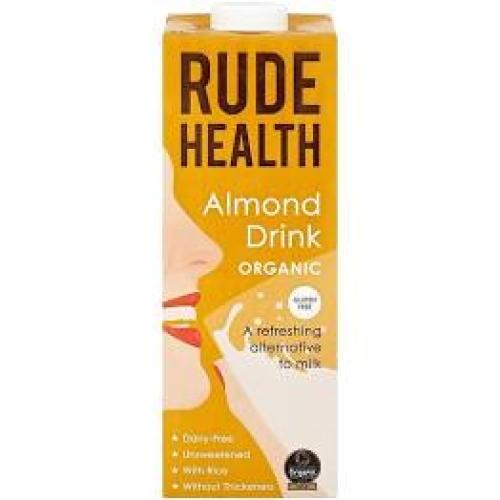 Rude Heath - GF Organic Almond Drink (Dairy Free)