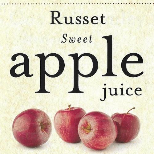 Bentleys russet apple juice