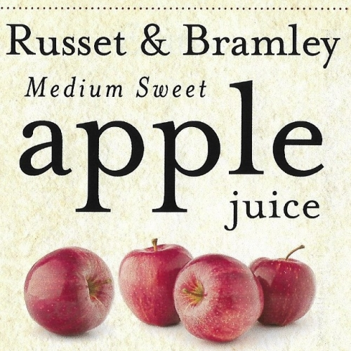 Bentleys Russet and Bramley apple juice