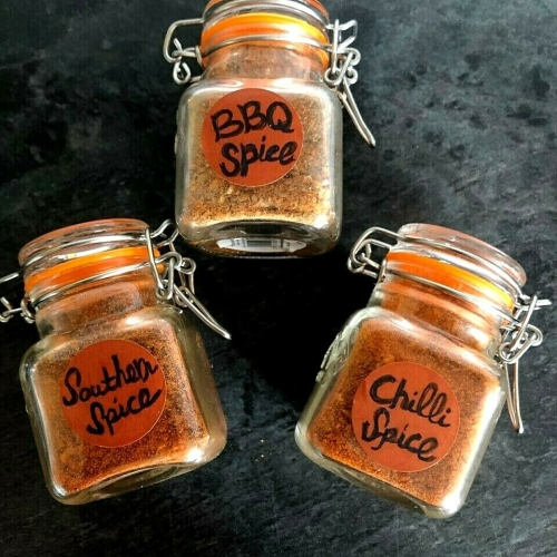 BBQ Herbs & Spices Collection with Smoked Garlic by Barbismoked™