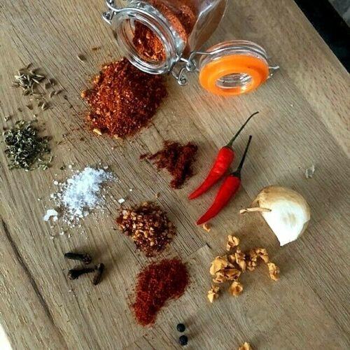 Smoked Garlic Chilli Mix by Barbismoked™