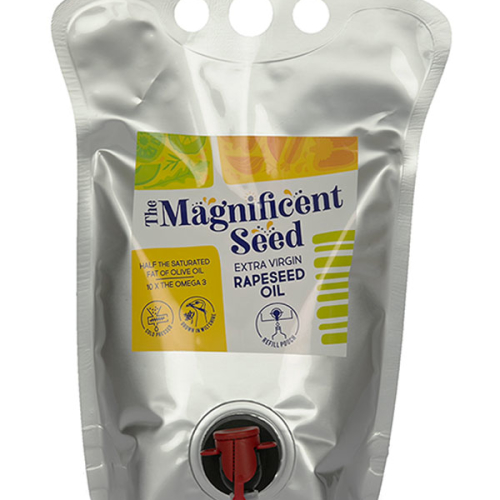 1.5L / 3L Extra Virgin Rapeseed Oil Refill Pouch